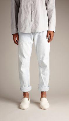 SS14 Hand Sewn Slipper White