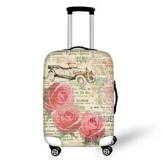 Travel Luggage Cover Stitch Lilo Island Run Suitcase Protector Fits 26-28 Inch Washable Baggage Covers