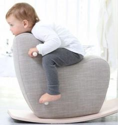 Googy toddler rocking horse This is this one I want for the house Country Bedroom Design, French Country Bedrooms, Pram Toys, Red Dot Design, Sleigh Beds, How To Distress Wood, Kids Furniture, Furniture Outlet, Wooden Furniture