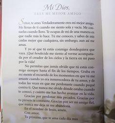 Mi Dios gracias. Eres mi mejor amigo. #Lecturadeldía Libro: #OracionesAMiRey Autora: #SheriRose