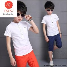 Kids Fashion Boy, Little Fashion, Sport Fashion, Girl Fashion, Cocktail Wear, Boy Or Girl, Baby Boy, Kids Sports, Cotton Shorts
