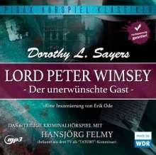 Dorothy L. Sayers: Lord Peter Wimsey: Der unerwünschte Gast, CD