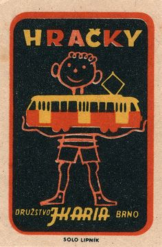 czechoslovakian #matchbox label  To Order your business' own branded #matchbooks or #matchboxes GoTo: www.GetMatches.com or CALL 800.605.7331 to get the process started today!