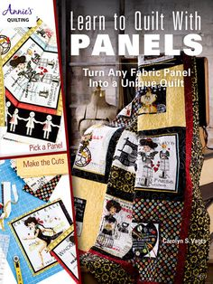 Make beautiful quilts in no time at all by using panels! This book will become your new go-to book when you're looking for a quick and easy project without sacrificing beauty and style. Beginners and experienced quilters alike will adore this book because it shows how to use panels as a focal design element or how to simply use parts of panels to make something truly unique. Starting out simple by incorporating full panels with a simple border, the book progressively shows you how to do ...