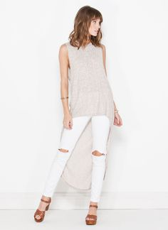#LBH, you'd have to be a little crazy to pass up a chic high-low top like this one.