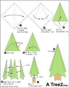Origami Tree 2