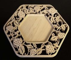 My Journey As A Scroll Saw Pattern Designer #999: Strawberry Fields Forever - by Sheila Landry (scrollgirl) @ LumberJocks.com ~ woodworking ...