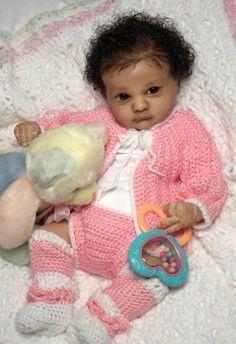 Reborn Unpainted Doll Kits Awake Newborn Baby Doll Testa Sculpt Mould da 22