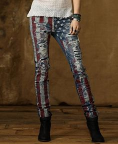 Ralph Lauren denim supply American flag jeans