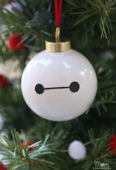 You Won't be Satisfied With Your Christmas Tree Without a Baymax Ornament