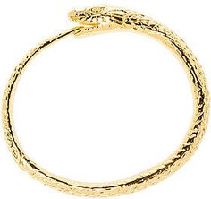 Black Scale The Ouroboros Bracelet in Silver