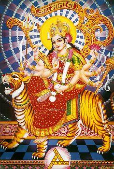 Durga Maa (Jai Ambe Gauri Aarti complete lyrics) by simon_ram, via Flickr