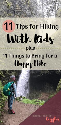 Here is a complete list of tips I've learned from taking my children hiking. Plus 11 things to bring for hiking with little kids. Hiking With Kids, Go Hiking, Hiking Tips, Travel With Kids, Good Parenting, Parenting Hacks, Cabin Activities, Summer Activities, Camping