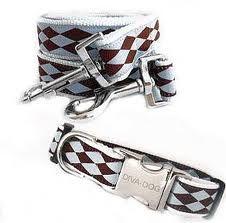Designer Dog Collars - collars & leashes    Follow us on Facebook & Twitter @queenofpaws