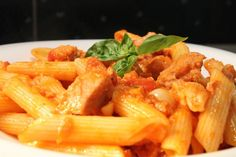 Tonhalas tészta Penne, Pasta Salad, Food And Drink, Pizza, Yummy Food, Healthy Recipes, Fish, Meals, Chicken