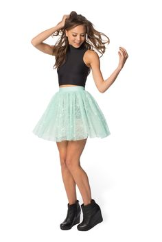 Mint Pixie Skirt - LIMITED (WW $70AUD / US $56USD) by Black Milk Clothing