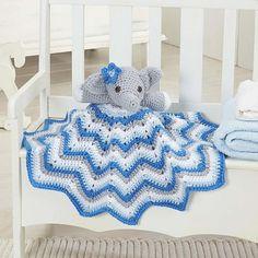 Crochet Patterns Galore - Stella Lovey Blanket
