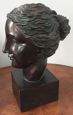 Vintage Bust of a Woman www.reposedny.com