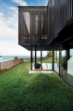 ON THE WATER: Freshwater House by Chenchow Little. 1/31/2012 Via HomeDSGN