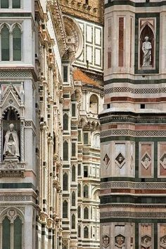 The Gothic-style Basilica di Santa Maria del Fiore (Basilica of Saint Mary of the Flower) is the main church of Florence, Italy. The Duomo, as it is ordinarily called, was contructed between 1296 and The Duomo, Florence (by Marcus Reeves) Places To Travel, Places To See, Travel Destinations, Wonderful Places, Beautiful Places, Amazing Places, Places Around The World, Around The Worlds, Rome Florence