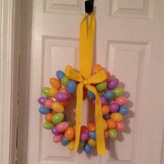 My Easter wreath :))