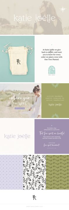 Katie Joëlle — Spruce Rd. Brand Identity, Branding, One Tree, Wrap Bracelets, Free Spirit, Trees To Plant, Boho, Inspired, Sneakers