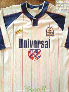 d7378b407fe 1994 95 Luton Town Home Football Shirt (L). Football UniformsFootball  KitsVintage Football ShirtsTottenham HotspurSoccer ...