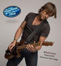 @Keith Urban Season #12 American Idol Judge