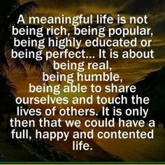 Truly 'rich' people need less to be happy. Live a comfortable life, not a wasteful one. Do not spend to impress others. Do not live life trying to fool yourself into thinking wealth is measured in material objects. :)