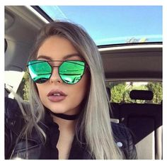Shop the trendiest and latest in fashion sunglasses Oversized sunglasses Cat eye sunglasses Flat top sunglasses Squared sunglasses Aviator Flat Top Sunglasses, Oversized Sunglasses, Cat Eye Sunglasses, Mirrored Sunglasses, Trendy Fashion, Eyewear, Emerald, Flamingo, Simple