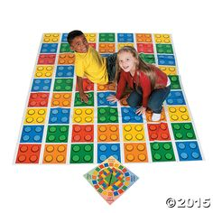 Lego Jumbo Twister Party Game Party Supplies Canada - Open A Party