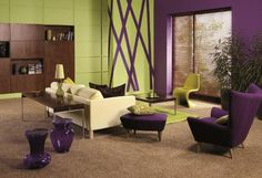 DIY+Decorating+Ideas+ +Decorating+With+The+Color+Purple