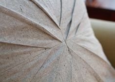 pleated pillow tutorial