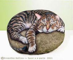 Pintando Piedras 8 por Ernestina Gallina