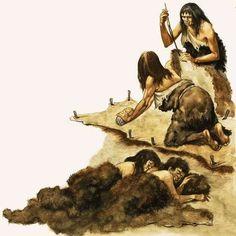 4-Женщины-каменного-века-скаблят-кожу-худ-Питер-Джэксон-20-век.jpg (598×600)