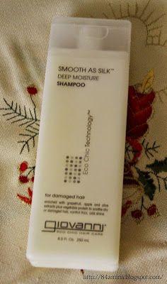 Amina Beauty One: Giovanni, Smooth As Silk, Deep Moisture Shampoo -