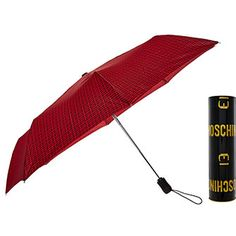 Red Logo Compact Umbrella