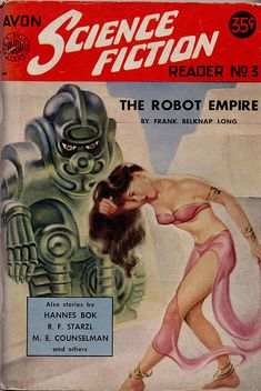 """Dedicated to all things """"geek retro:"""" the science fiction/fantasy/horror fandom of the past including pin up art, novel covers, pulp magazines, and comics. Science Fiction Kunst, Science Fiction Magazines, Pulp Fiction Book, Fiction Novels, Caricature, Art Pulp, Classic Sci Fi Books, Badass, Sci Fi Comics"""