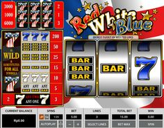 "★★★GAME SLOT LEMACAU "" RED WHITE BLUE 3 LINES "" ★★★"