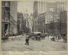 Beginning of Broadway.