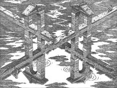 Crossroads by M.C Escher