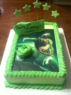 + ideas about Green Lantern Cake on Pinterest  Star Trek Cake, Cakes ...