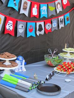 "Another great idea for a boy's birthday! An ""Out-of-this-World Star Wars Party! ~~ homemade by jill"