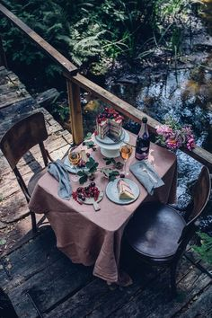 Gluten-free Cherry-Cardamom Cake & a Gathering in the Woods - Our Food Stories