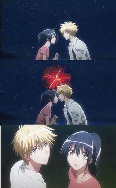 Mikasi et takumi Manga Anime, Anime Kiss, Noragami Anime, Maid Sama Manga, Anime Maid, Misaki, Usui, Animes On, Manhwa