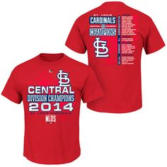 28abffa04 San Antonio Spurs  ) · St. Louis Cardinals Youth 2014 NL Central Division  Champions Roster T-Shirt - MLB