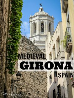 Exploring the streets of the charming medieval city of Girona in Catalonia, Spain. Most travelers do a quick day trip from Barcelona, but Girona deserves so much more than that!