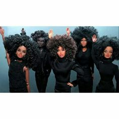 Ok ladies now let's get in formation! ||beyonce || i Slay || formation || barbie || afro|| melanin || black girl magic || natural hair || all black everything