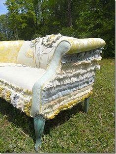 creative design for sofa re-do