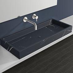 MWB-01-XL_black Sink Countertop, Marble Countertops, Minimal Bathroom, Modern Bathroom, Black Marble, Large Black, Mud, Faucet, Contemporary